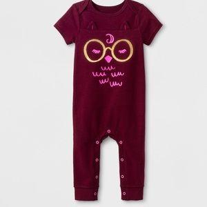 Baby Girl Owl Bodysuit Costume